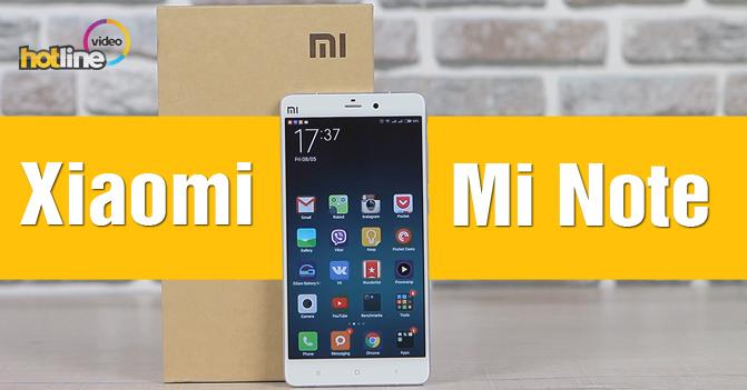 Видеообзор Xiaomi Mi Note