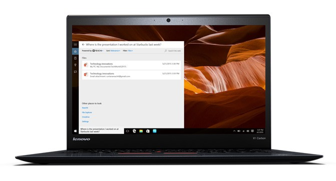 Lenovo и Microsoft  представили новый совместный проект Cortana и REACHit