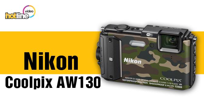 Видеообзор компактной фотокамеры Nikon Coolpix AW130
