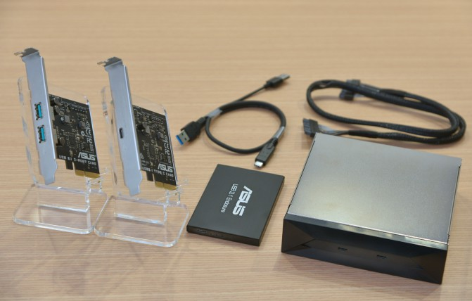 World's most complete ASUS USB 3.1 accessory line-up