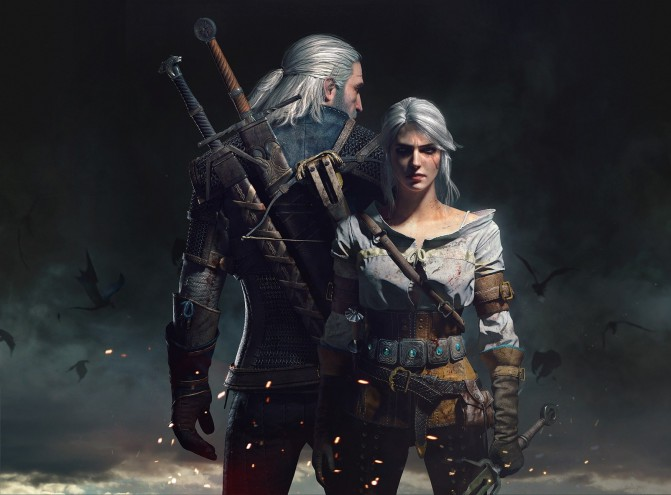 geralt_and_ciri_by_scratcherpen-d8v2rw6