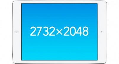 Код iOS 9 намекает на скорый выпуск планшета iPad Pro с 12,93-дюймовым дисплеем с разрешением 2732×2048 точек