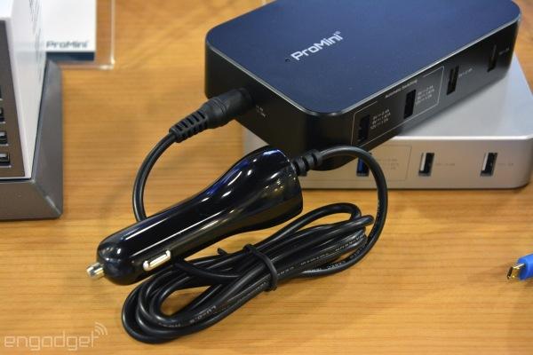 Magic-Pro показала USB-хабы для зарядки мобильных устройств