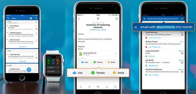 Украинское приложение Spark за два дня достигло 100 тыс загрузок и вышло в топы App Store