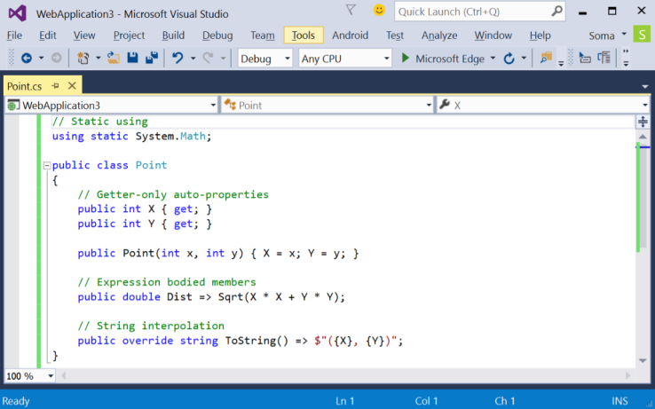 Visual C++ in Visual Studio 2015 - msdnmicrosoftcom