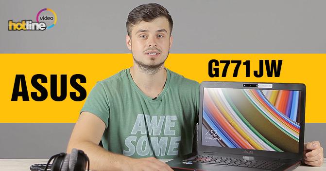 Видеообзор игрового ноутбука ASUS G771JW