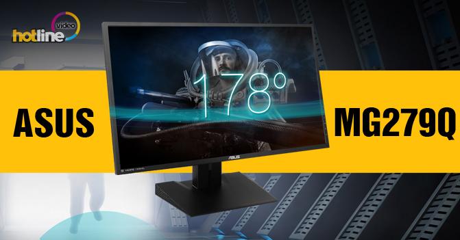 Видеообзор игрового IPS-монитора ASUS MG279Q