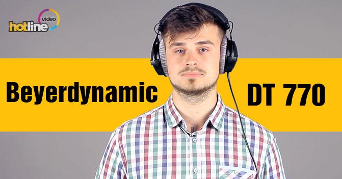 Видеообзор полноразмерных наушников Beyerdynamic DT 770 PRO 250 Ohm