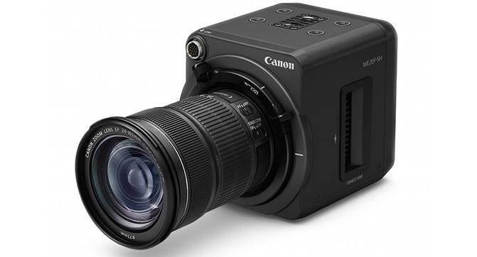 Canon анонсировала камеру, способную снимать видео почти в полной темноте