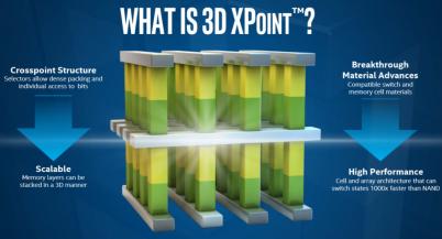 Intel и Micron представили память 3D XPoint, которая в 1000 раз быстрее и долговечнее NAND