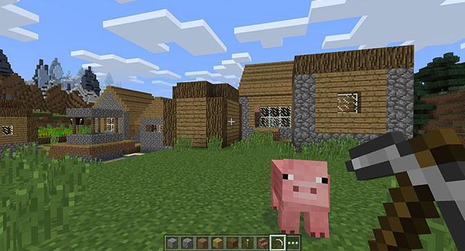 Анонсировала игра Minecraft: Windows 10 Edition Beta