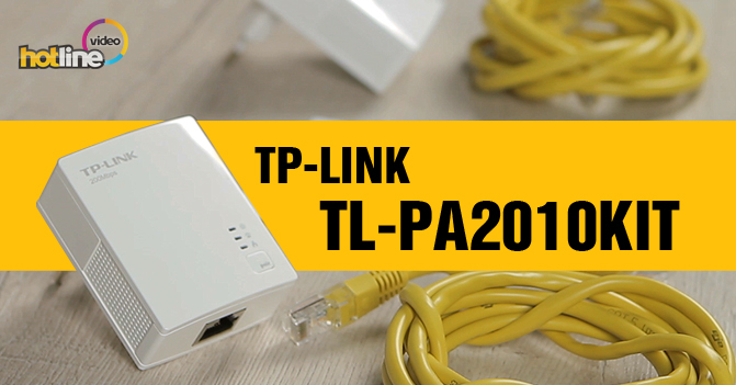 Видеообзор Powerline-адаптера TP-LINK TL-PA2010KIT