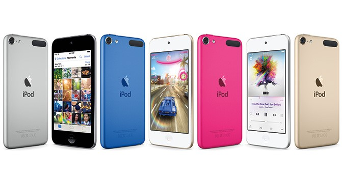 Apple выпустила обновлённый мультимедийный проигрыватель iPod touch