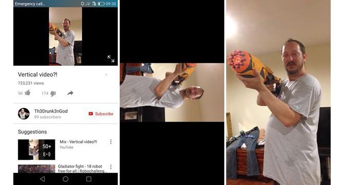 В YouTube для Android решена проблема просмотра вертикального видео