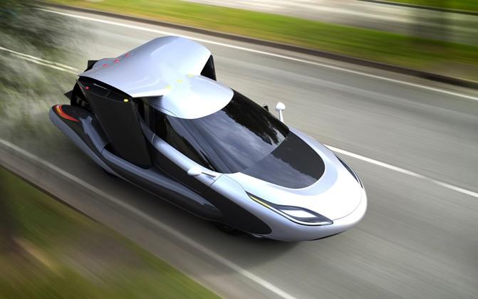 Испытания совершенно нового летающего автомобиля