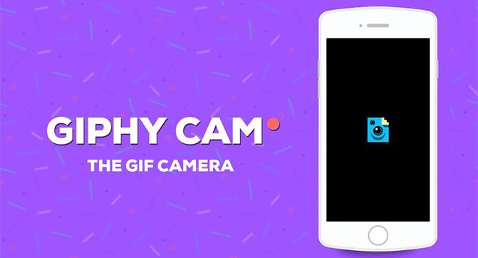 Приложение Giphy Cam позволяет создавать анимированные снимки из нескольких фотографий или видеороликов
