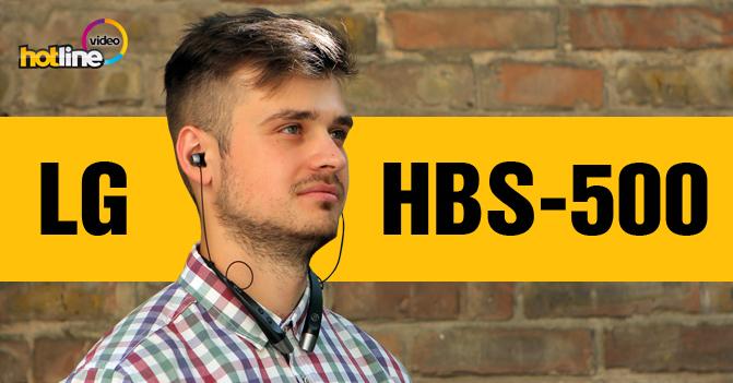 Видеообзор Bluetooth стерео-гарнитуры LG HBS-500