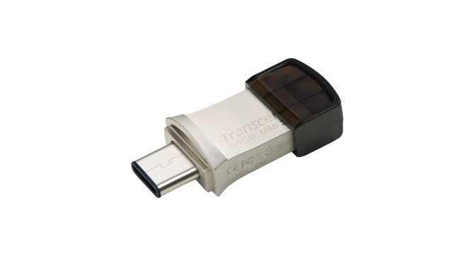 Transcend представляет JetFlash 890S с двумя разъемами USB и поддержкой OTG