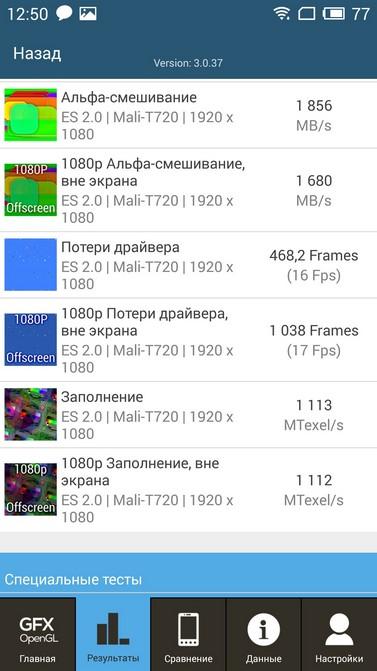 Обзор смартфона Meizu M2 Note
