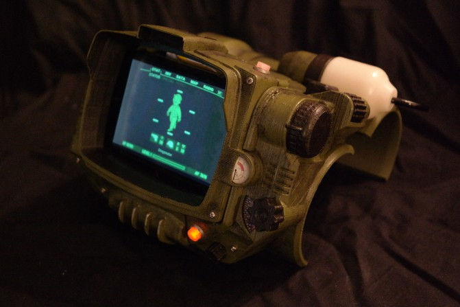Схемы Pip-Boy 3000 Mark IV