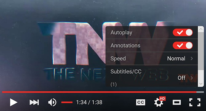 Обновлённый дизайн плеера YouTube стал доступным для всех пользователей