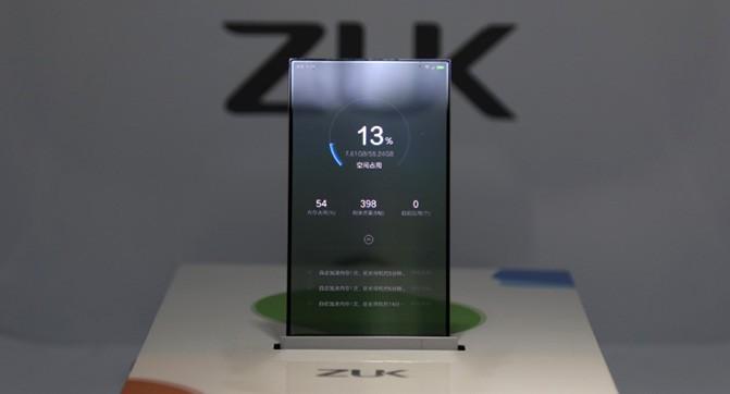 ZUK показала рабочий прототип смартфона с прозрачным дисплеем