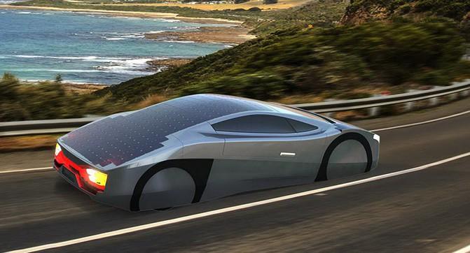 В Австралии создали электрический спорткар с солнечными батареями