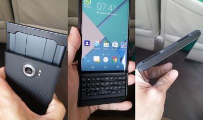 В сети появились живые фотографии Android-смартфона BlackBerry Venice