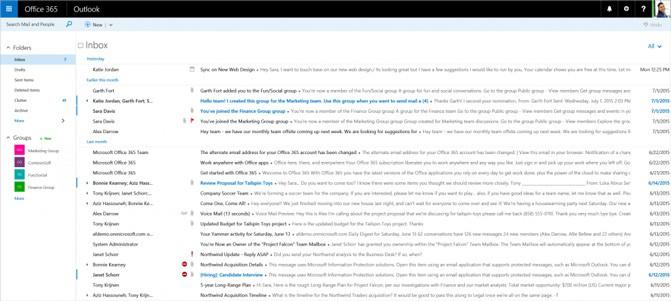 Веб-приложение Outlook получило новое название, новый дизайн и новые функции
