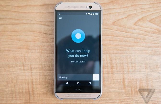 Microsoft выпустила бета-версию приложения Cortana для Android