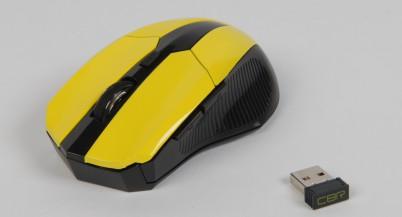 Обзор беспроводной мыши CBR CM 547
