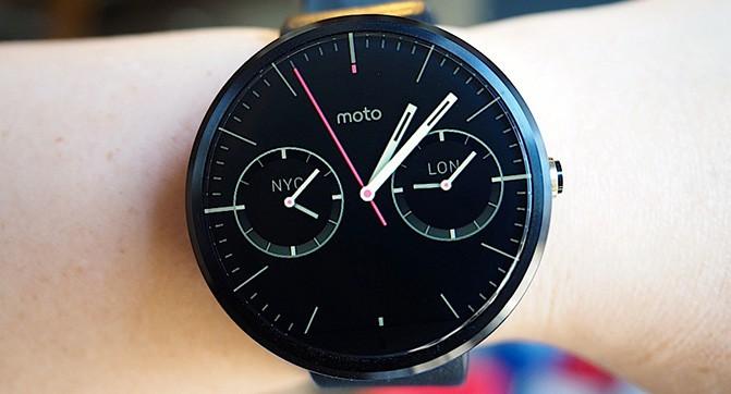 Умные часы Motorola нового поколения могут быть представлены в двух размерах