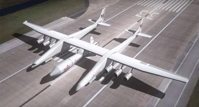 Самый большой самолёт Stratolaunch отправится в тестовый полёт в 2016 году