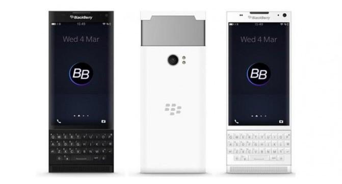 Android-смартфона BlackBerry Venice засветился на фотографиях