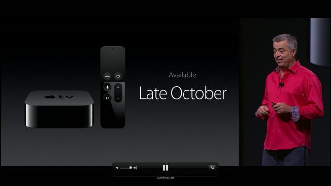 Обновленная Apple TV выйдет на рынок уже через неделю