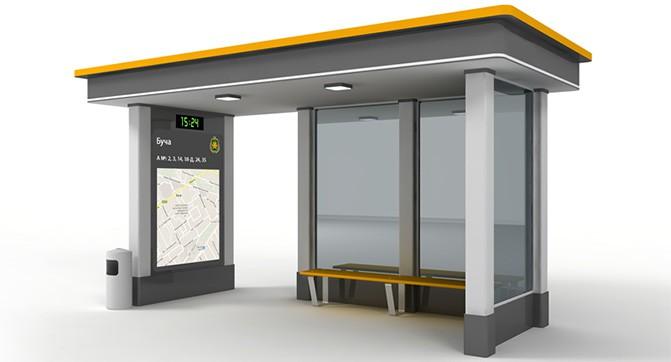 В Киеве появятся «умные» остановки общественного транспорта