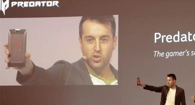 Acer показала смартфон Predator 6, ориентированный на геймеров