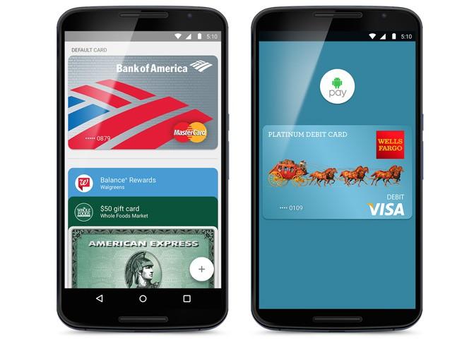 Google начала внедрение сервиса Android Pay