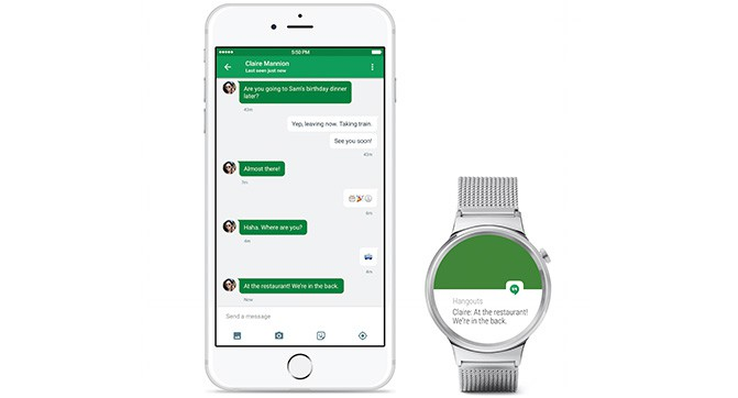 Google внедрила совместимость Android Wear со смартфонами iPhone