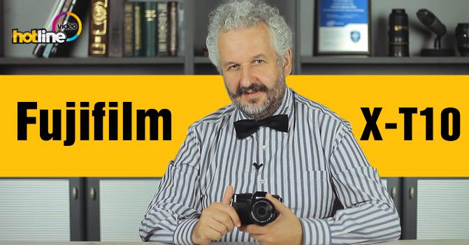 Видеообзор беззеркального фотоаппарата Fujifilm X-T10