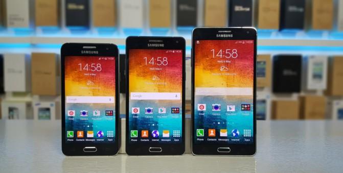 Samsung готовит к выпуску обновленные смартфоны Galaxy A3, A5 и A7