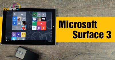 Видеообзор Microsoft Surface 3
