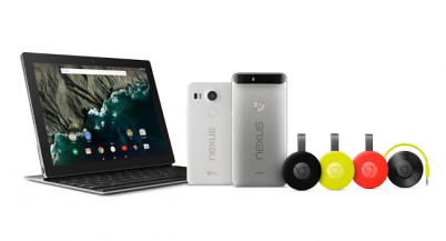 Прямая видеотрансляция презентации Google: Nexus 6P, Nexus 5X, Pixel C, Chromecast New, Chromecast Audio, Android 6.0 [29.09.2015]