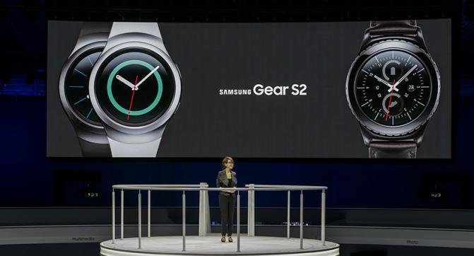 Samsung Gear S2 Showcase [IFA 2015]