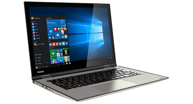Ноутбук Toshiba Satellite Radius 12 получил 4K-дисплей и поддержку Windows Hello