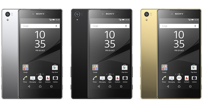 Sony анонсировала флагманский смартфон Xperia Z5 и его уменьшенную версию Xperia Z5 Compact