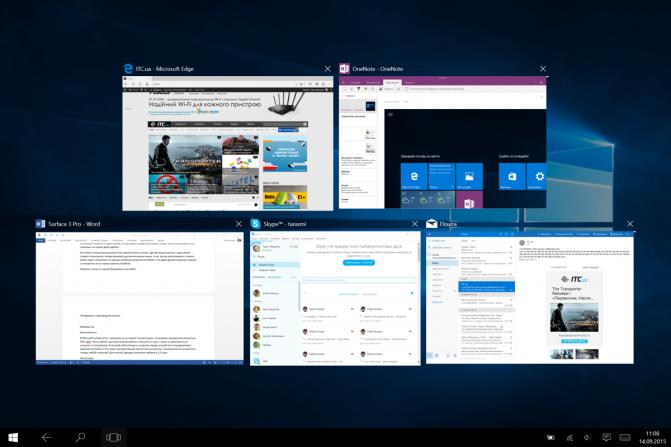 Виндовс 10 для планшета с майкрософт