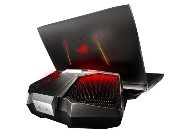 Asus GX700 – необычный игровой ноутбук с водяным охлаждением, 17-дюймовым 4K-экраном и разблокированным процессором Intel Skylake-K