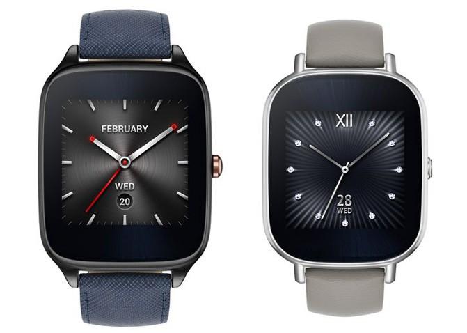 Умные часы ASUS ZenWatch 2 поступят в продажу в октябре по цене от €149