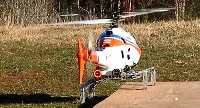 Новая разработка DARPA позволит осуществлять посадку вертолётов на наклонную, неровную и движущуюся поверхность